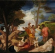 Painting a Day 2012: Sketch of Titian's The Andrians
