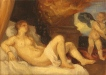 Painting a Day 2012: Study of Titian's Danae