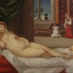 Painting a Day 2012: Study of Titian's Venus of Urbino