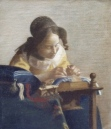 "Copy of Vermeer's ""The Lacemaker,"" 2001"