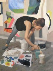 Detail of Rebekah Goldstein, 2018